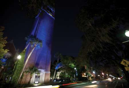 UF goes blue for Diabetes Awareness